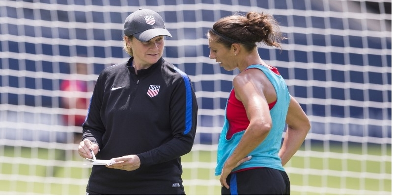 Jill Ellis named to shortlist for FIFA Coach of the year for 2016
